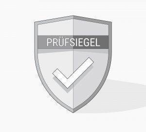 Illustration: ein Prüfsiegel