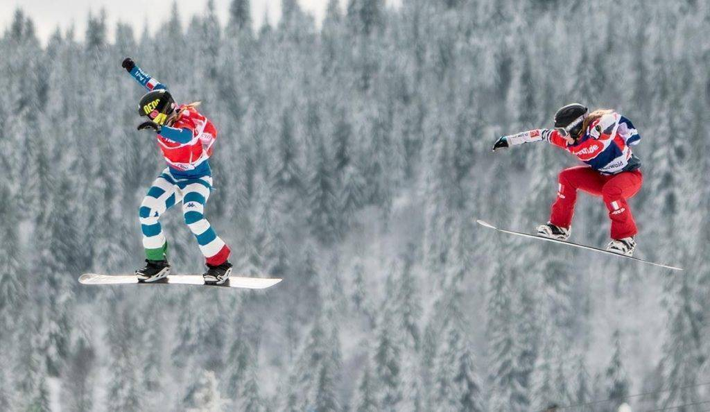 FIS Weltcup Snowboard Cross