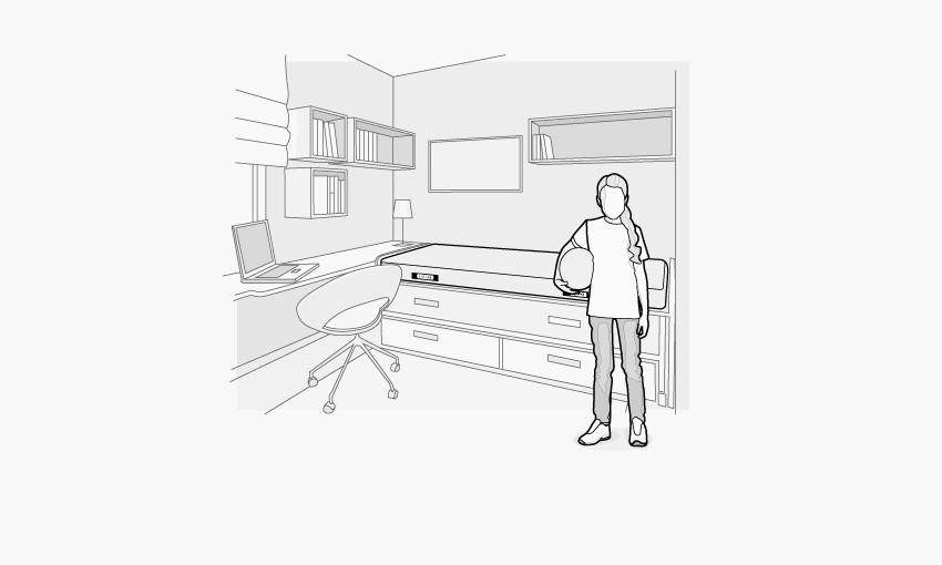 bodyguard matratze h rtegrad weich. Black Bedroom Furniture Sets. Home Design Ideas