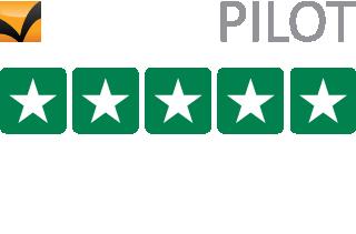 Trustpilot Bewertungen - 25000+ - Durchschnittsbewertung 9.3