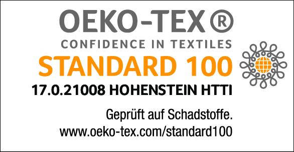 Ökotex Siegel - Standard 100 für Säuglinge geeignet